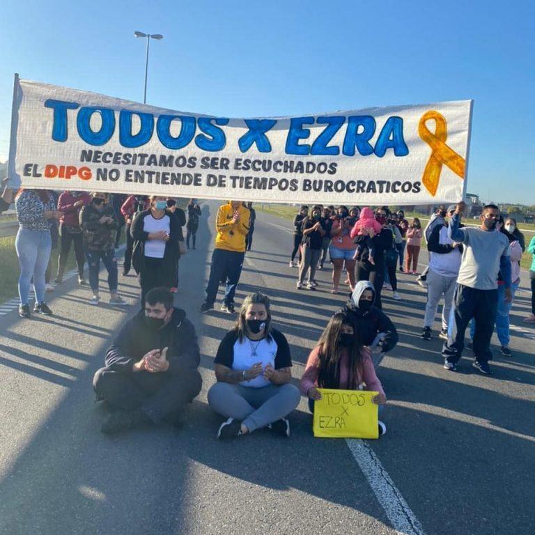 «Todxs por Ezra»: volvieron a movilizarse para pedir asistencia del Estado
